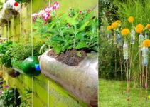 Aprende hacer decoraciones para tu hogar con botellas plasticas