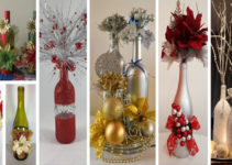 Aprende hacer adornos para navidad con botellas