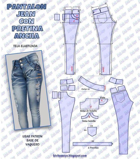 Aprende Hacer Pantalon Levanta Cola Con Patrones