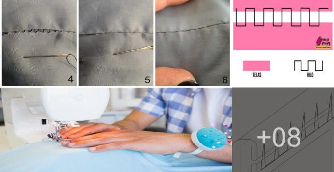 Aprende como hacer puntadas invisibles a mano paso a paso
