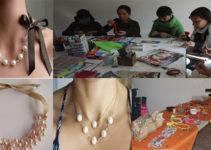 Curso gratis de collar de perlas paso a paso!