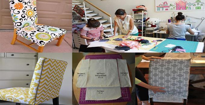 Curso gratis de costura: Aprende como hacer forros de sillas con patrones
