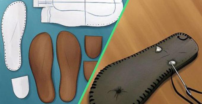 Aprende como hacer zapatos con sus moldes desde cero paso a paso!