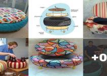 Curso gratis de manualidades: como decorar neumáticos para tu hogar