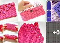 Aprende hacer esta manualidades de bolsitos crochet hermosos!