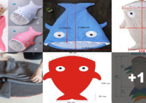 Hermosas ideas de como hacer sacos de dormir para bebes!