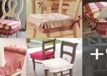 Aprende hacer forros de asientos para sillas con patrones