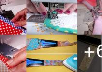 coser sesgo o bies con trucos fáciles
