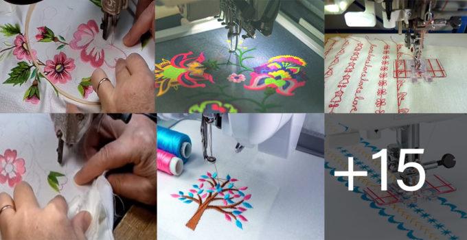 bordados en tu máquina de coser