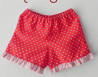 Aprende Hacer Shorts De Nina Con Patron Curso Gratis De Costura