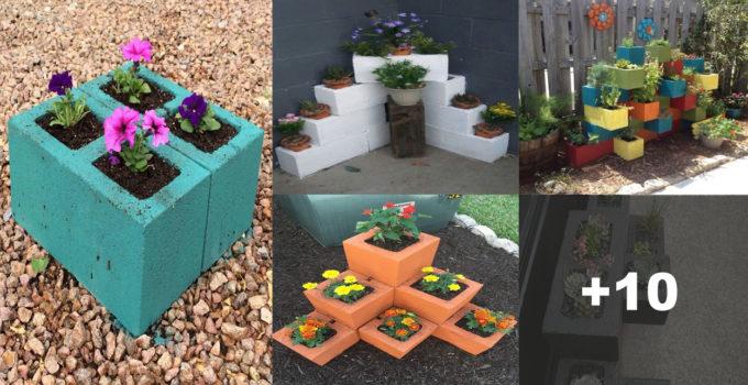 Aprende hacer hermosas ideas con blocks de cementos para tu hogar!
