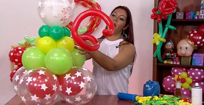 Curso gratis de manualidades: Aprende hacer hermosas ideas con globos en casa!