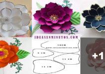 Curso gratis de manualidades: como hacer hermosa flor de papel en casa!