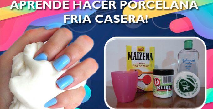 MANUALIDADES: APRENDE HACER PORCELANA FRIA CASERA!