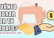 CUÁNTO COBRAR POR TU TRABAJO DE COSTURA