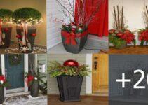 Aprende a decorar hermosas macetas para navidad en tu hogar!
