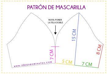 MASCARILLAS CON PLUMETI Y PUNTILLAS