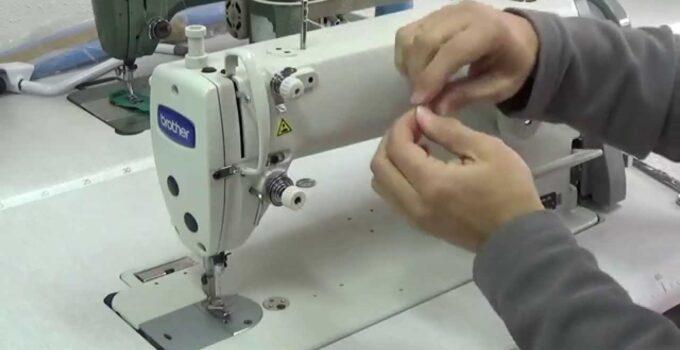 Aprende como enhebrar con maquina de coser paso a paso