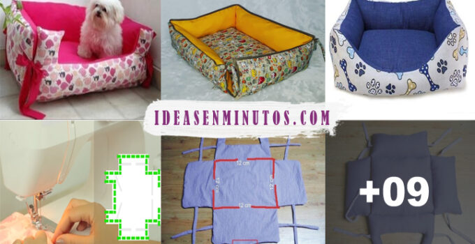 Aprende como hacer cama para mascotas con patrones paso a paso