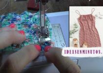 Aprende como hacer un vestido fruncido con hilo elastico con patrones