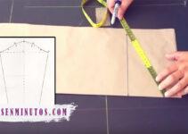 Aprende como trazar patrones de mangas base paso a paso
