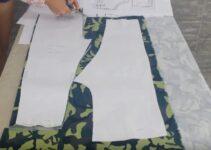 Aprende como cortar patrones sobre la tela bien facil