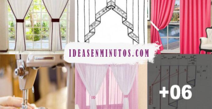 Aprende a como hacer cortinas de hermosos botones con patron