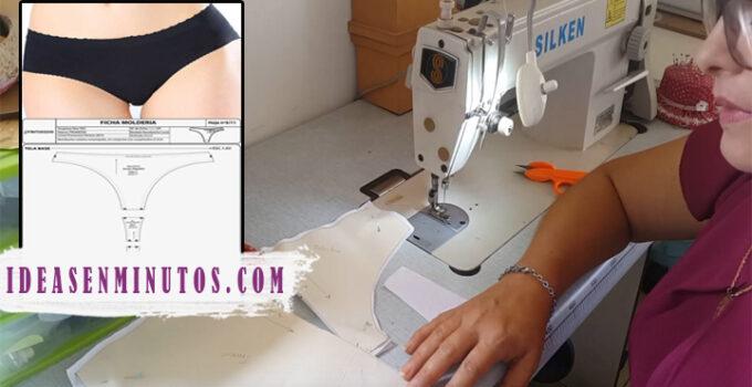 Aprende a como confeccionar calzon con patron paso a paso