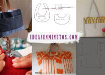 Aprende como hacer estos hermoso bolso bandolera con patron