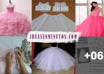 Aprende como confeccionar vestido de 15 añeras con su patron