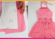 Curso gratis de como hacer hermoso conjunto de short y blusa de niña