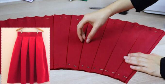Aprende a como confeccionar faldas plisada con patron