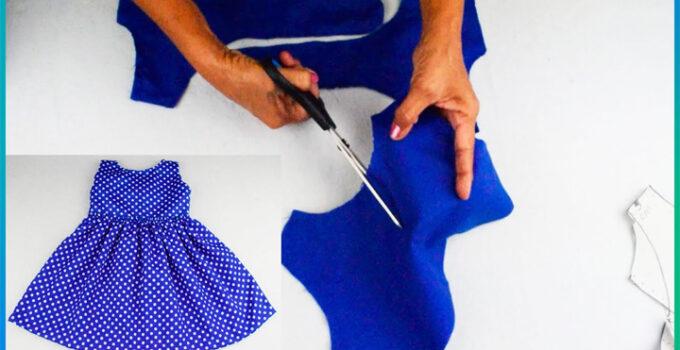 Curso gratis de como hacer precioso vestido de volitas para niñas