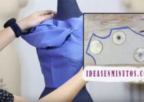 Aprende hacer camisa torcida sin costura paso a paso
