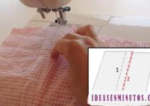 Curso gratis de como aprender hacer costura francesa con tu maquina