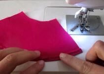 Aprende como hacer dobladillo de falda circular con maquina