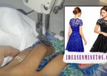 Curso gratis de como hacer hermoso vestido de encaje