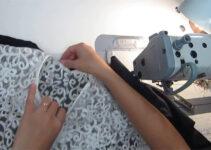 Curso gratis de como forrar encaje en tus prendas con maquina