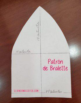 APRENDE A COMO CONFECCIONAR ESTE HERMOSO BRALETTE DE ENCAJE