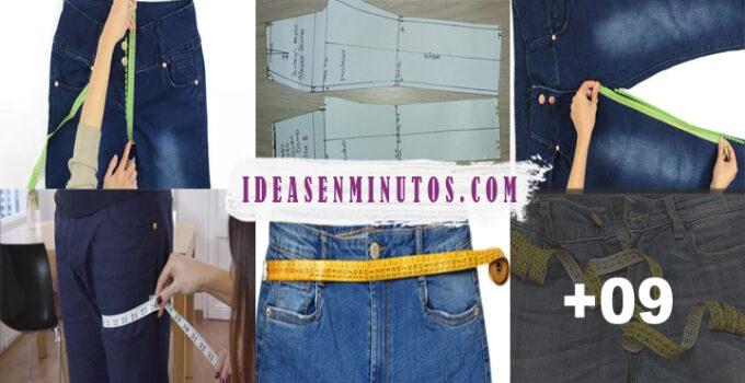 Aprende como tomar las medidas para un pantalon y hacerlo