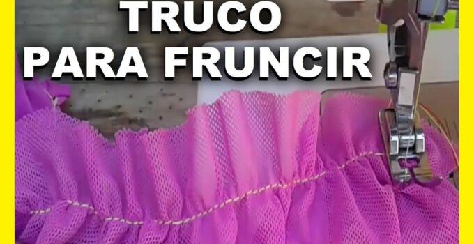 CURSO GRATIS DE COMO FRUNCIR CON LA MAQUINA DE COSER