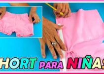Aprende a confeccionar shorts para niñas para este verano