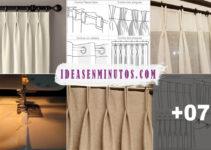 Aprende a como hacer cortinas con pinzas con la maquina de coser