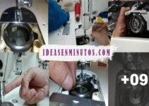Aprende a reparar la aguja cuando choca con el cangrejo de la maquina