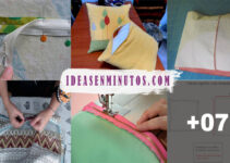 Aprende a como poner le zipper a un cojin con maquina de coser