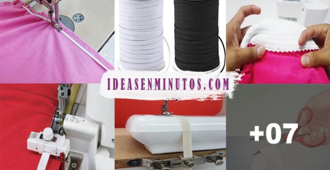 Aprende a como coser elastico con maquina de coser