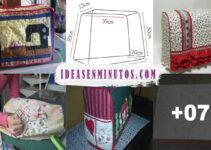 Aprende a como confeccionar funda de tela para maquina de coser