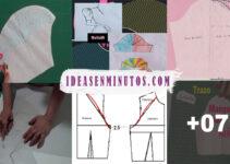 Aprende a como trazar un patron de manga basica