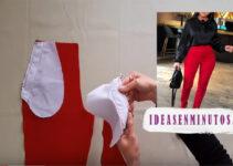 Curso gratis de como hacer pantalon de talla alta con patron