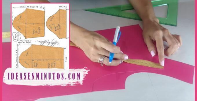Aprende a como trazar patrones basicos de manga paso a paso